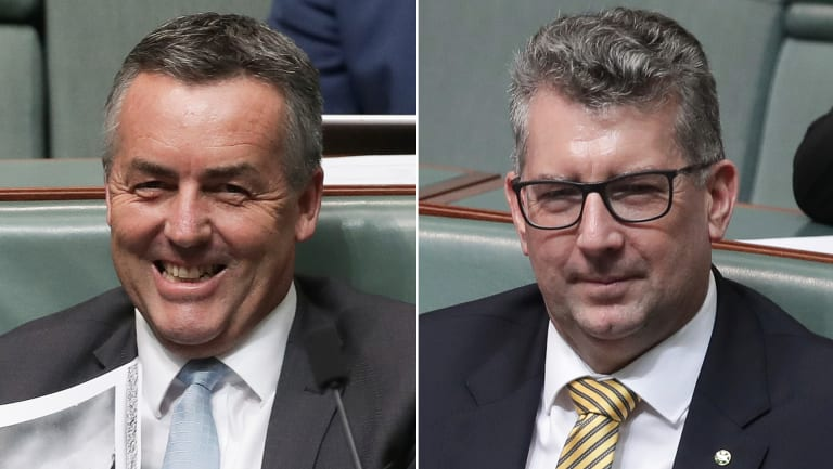 'Minimal reshuffle': Darren Chester and Keith Pitt have been named to the frontbench by Deputy PM Michael McCormack.