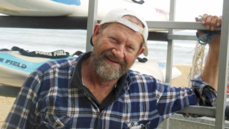 Missing fisherman Jeff Doyle. His boat was found washed ashore near Cervantes on Saturday morning.