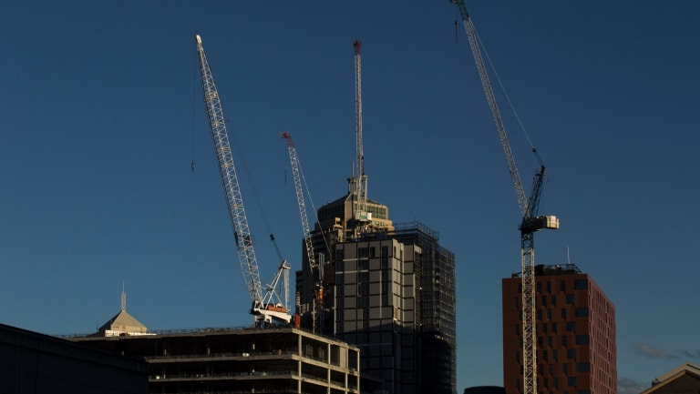 """Banks have put the brakes on lending to property developers, opening the market to """"shadow"""" banks."""