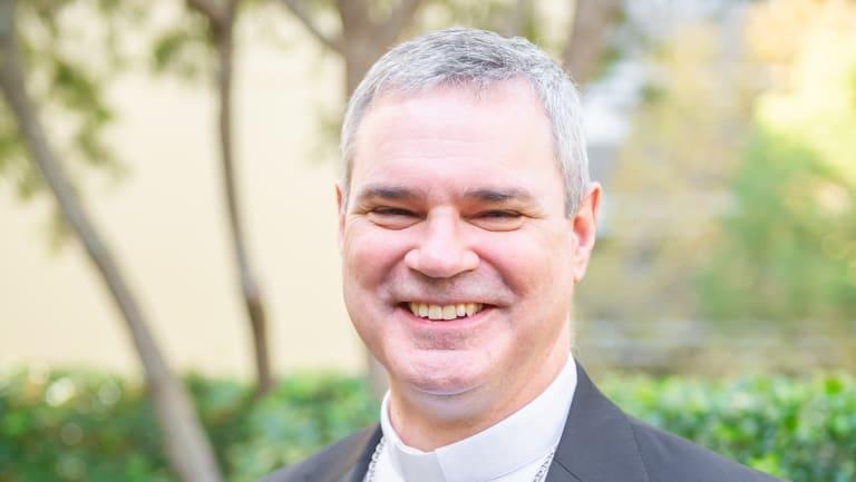 Archbishop-elect Peter Comensoli