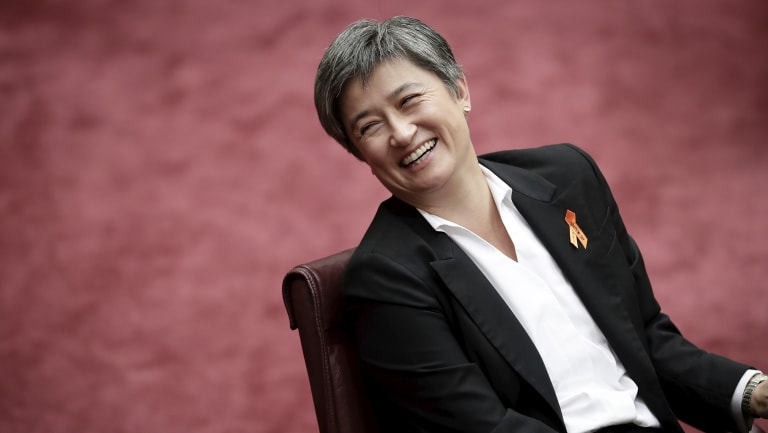 Penny Wong is one of the few MPs in parliament with non-European heritage.