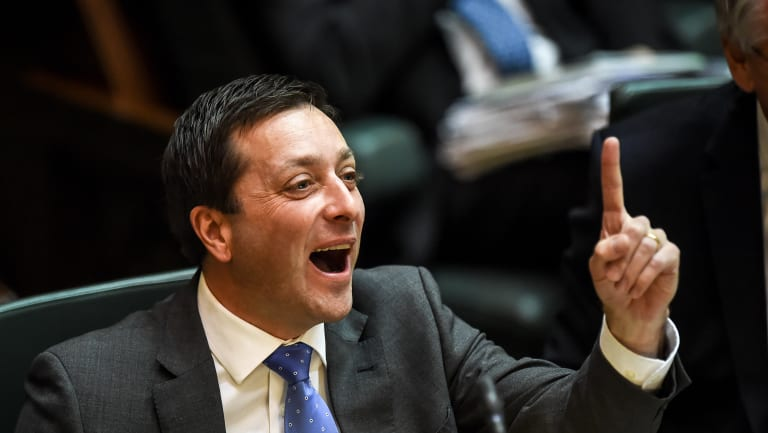 Opposition Leader Matthew Guy has the edge over Daniel Andrews on some of the key election issues.