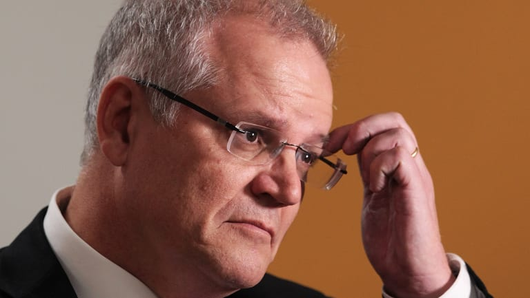 """Treasurer Scott Morrison has signalled a tax on big digital companies, saying earlier this year that """"the new economy shouldn't be some sort of a tax-free environment""""."""