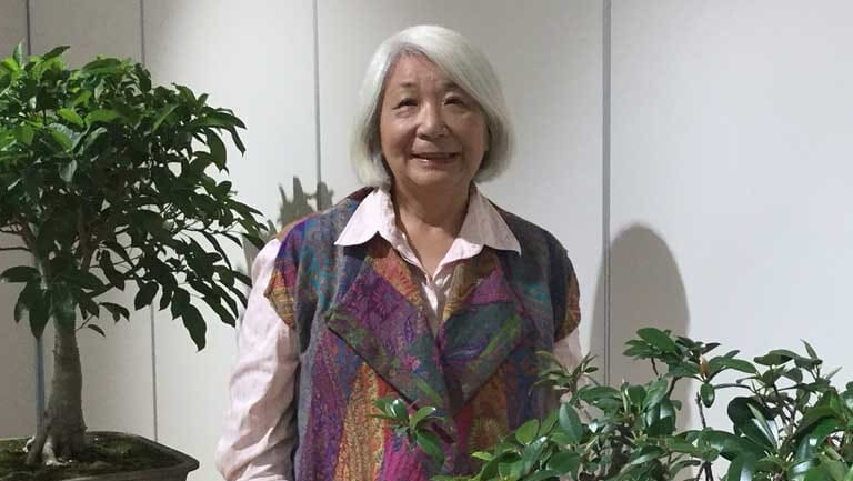 Megumi Bennett brings 40 years of knowledge to the beauty of Bonsai.