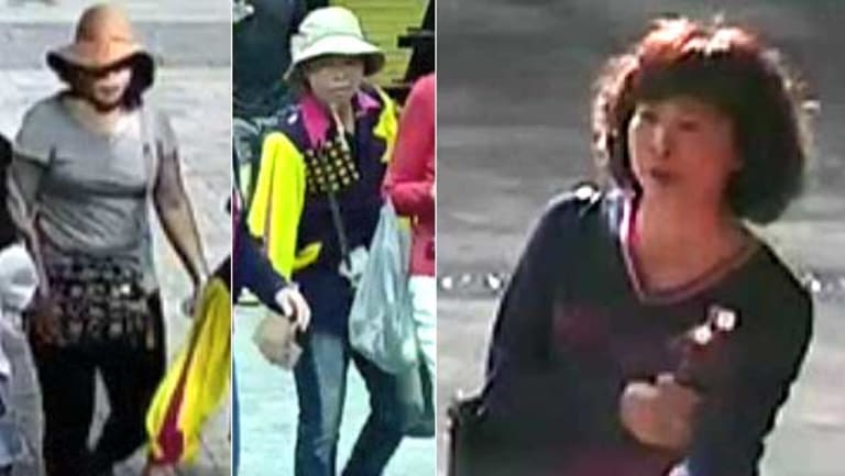 Police are seeking information about these three women.