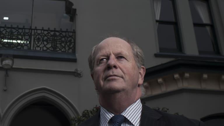 Rohan Brown, the former deputy principal at Trinity Grammar.
