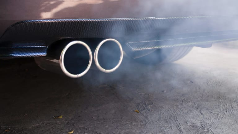 Diesel's carbon emissions have matched petrol for the first time in Australia's transport sector.