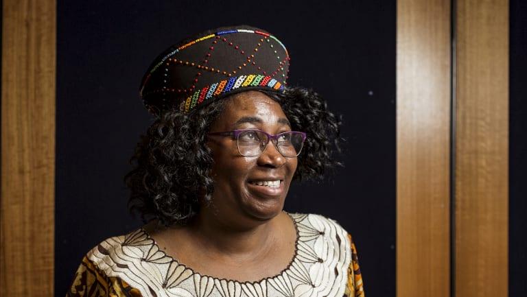 Rabecca Mphande is a high school English teacher, originally from Malawi.