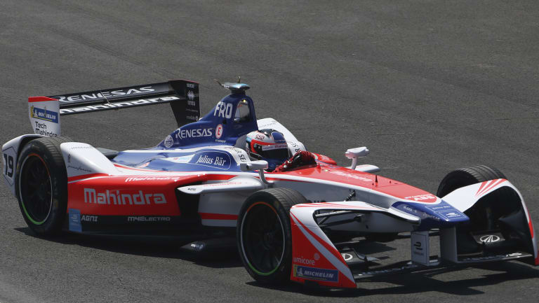 Jorda said the Formula E car was easier for women to drive.