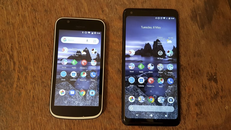 The most impressive thing about the Nokia 1 is that it managed to (more or less) mirror the functionality of my much more expensive Google phone.