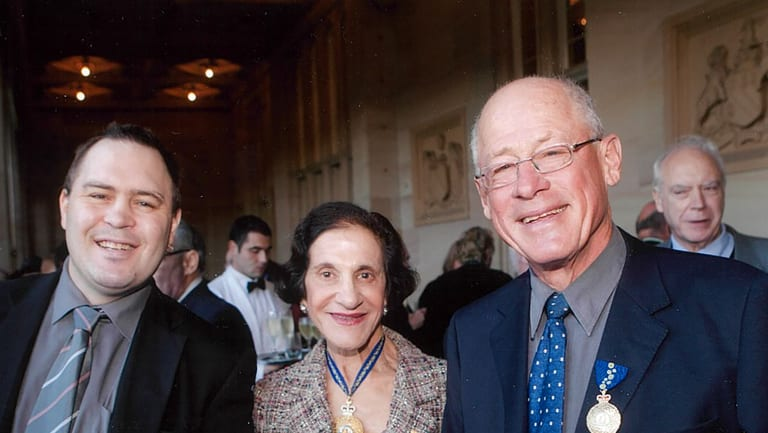 Donald McDonald with Warwick and Marie Bishir, then Governor of NSW.
