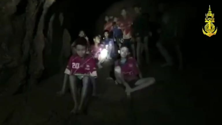 Rescuers found all 12 boys and their soccer coach alive deep inside the partially flooded cave.