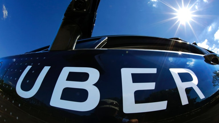 A self-driving Uber. Uber has suspended its trials of self-drive cars.