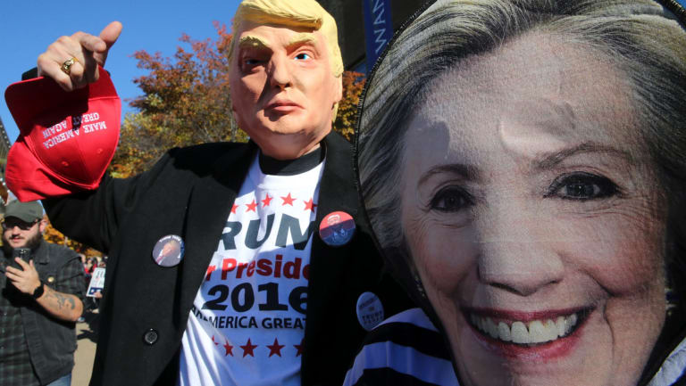 US authorities have indicted 13 Russian individuals for allegedly meddling in elections by organising pro-Trump and anti-Clinton rallies and social media ads.