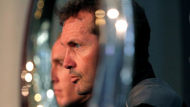 Dropping anchor: Former Brisbane Roar boss' Mike Mulvey becomes the Mariners coach.