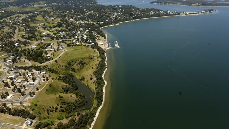 Paynesville in Victoria, where Merryn Padgett and Marcus Andrews live.