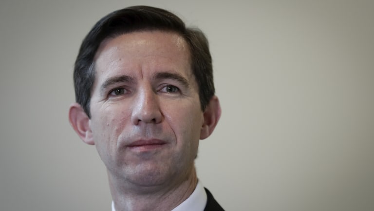 Education Minister Simon Birmingham says there's plenty of room for more international students.