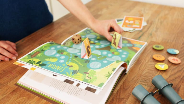 The Basecamp book and game helping children manage anxiety.