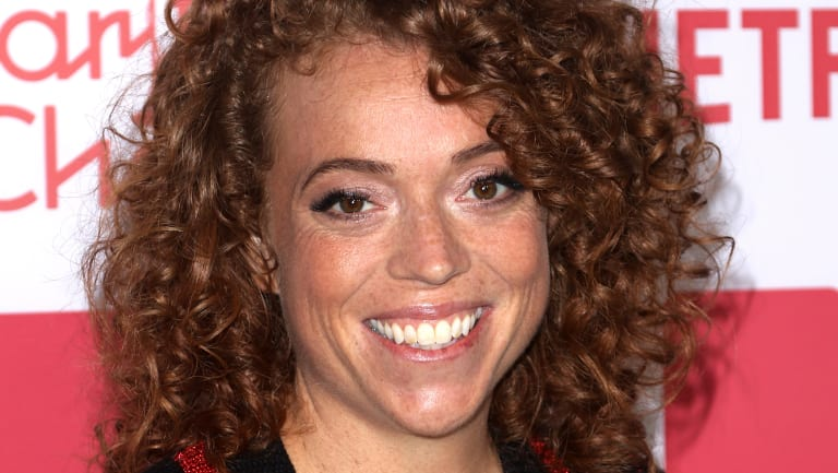 Michelle Wolf's caustic speech made some members of the audience boo and walk out.