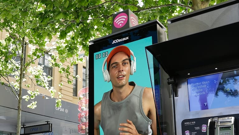 JCDecaux and Telstra have worked together on updating payphones, fuelling speculation they are hoping to get the City of Sydney contract together.
