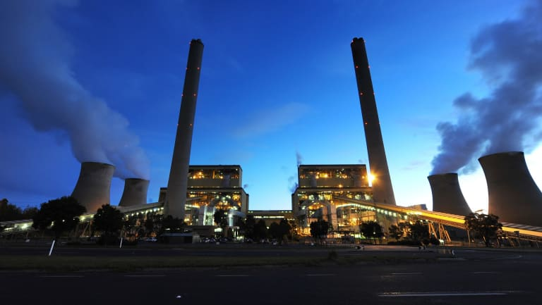 The emissions intensity of the power sector is on the increase.