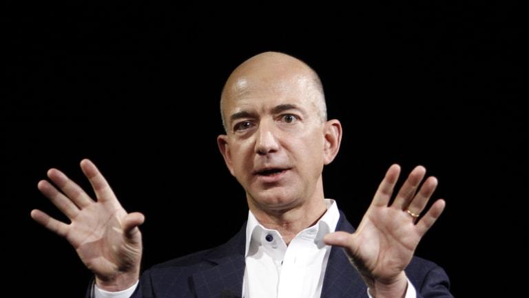 Jeff Bezos, CEO and founder of Amazon