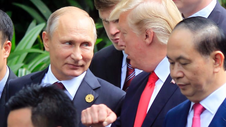 Russian President Vladimir Putin and US President Donald Trump are due to meet for talks in three days.