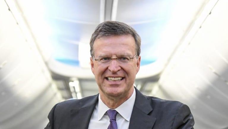 Former Virgin Australia executive John Thomas.