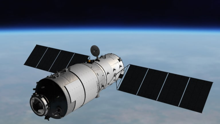 China's Tiangong-1 is heading back to Earth although scientists say not much will survive re-entry.