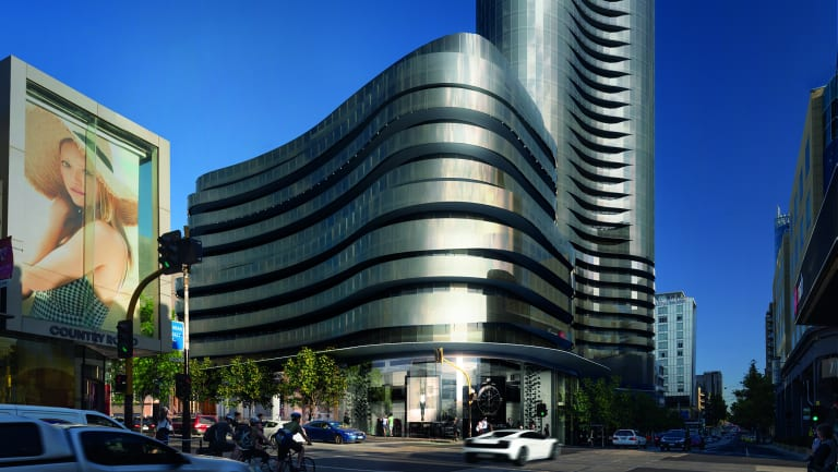 The 54-storey Capitol Grand will be the tallest building in Melbourne outside the CBD.