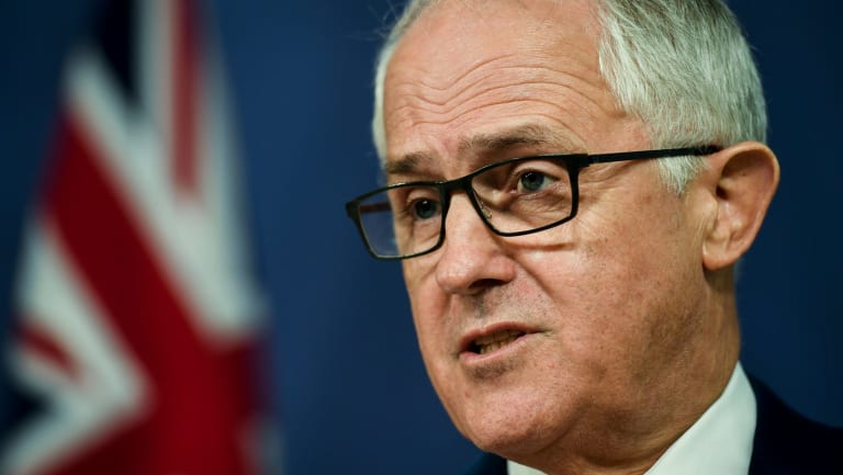 """""""There is certainly concern about street crime in Melbourne,"""" Mr Turnbull told 3AW on Tuesday."""
