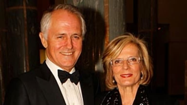 """Mrs Turnbull described her husband as """"handsome"""", """"dashing"""" and """"irresistible""""."""