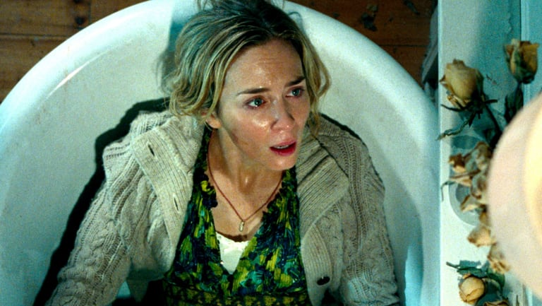 Emily Blunt in A Quiet Place.