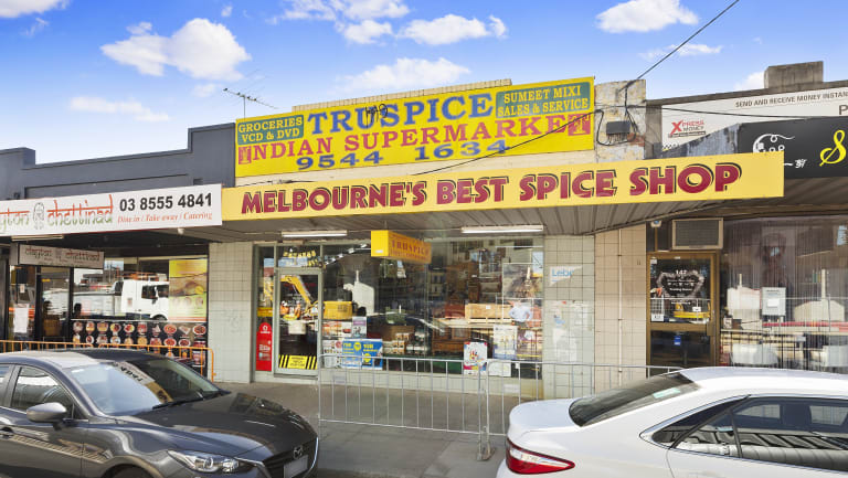 The Indian Supermarket in Clayton sold for $1.42 million.
