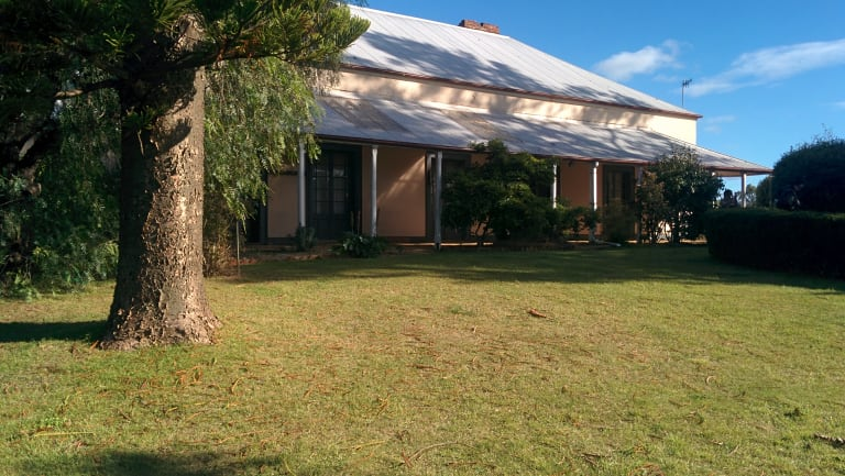 An 1820s heritage-listed homestead will be restored and form the centrepiece of the development.