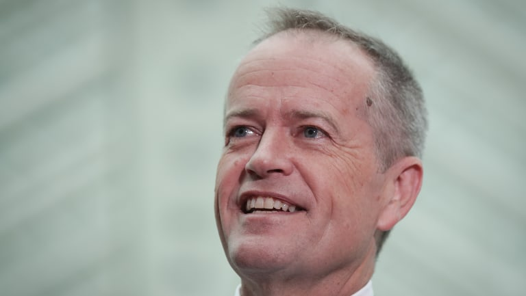 Opposition Leader Bill Shorten has drawn a line in the sand on the bill.