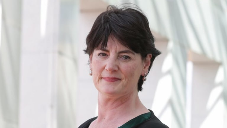 Leading Victorian barrister and former Law Council of Australia president Fiona McLeod.