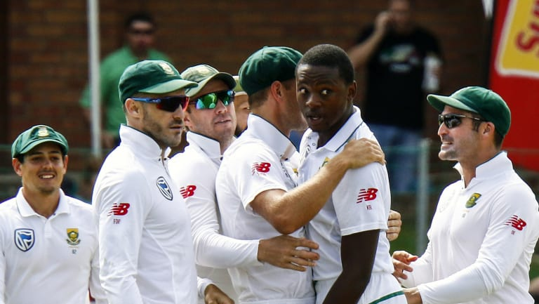 Charged again: Kagiso Rabada.