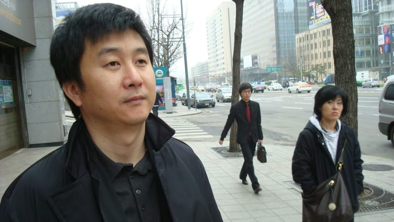 Kang Chol-hwan, left, an investigative journalist in South Korea wrote the first account of the North's gulag by a survivor.