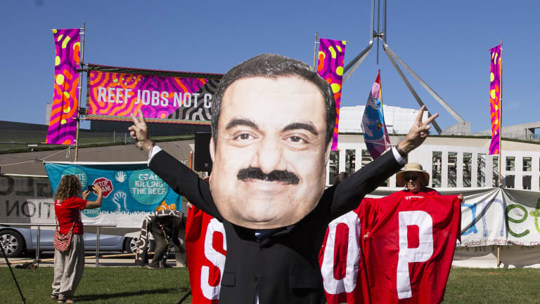 The Adani mine proposal has encountered strong public opposition and has struggled to secure bank backing.