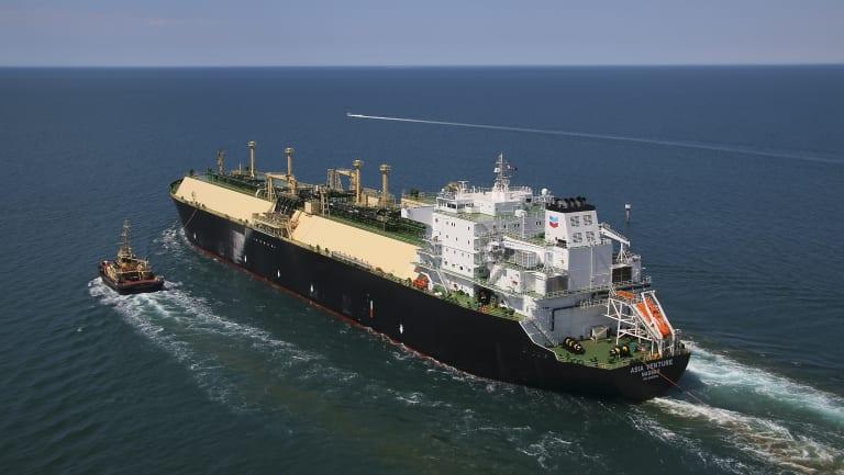 Chevron Wheatstone LNG cargo