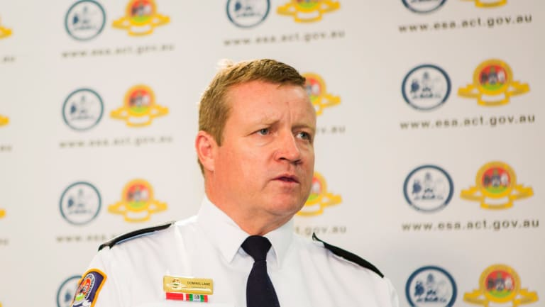 Emergency Services Commissioner Dominic Lane, who says there is no conclusive evidence linking human disease with PFAS exposure.