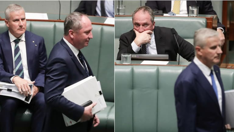 McCormack's first major decision as Deputy PM avoided a clash with key cabinet ministers loyal to his predecessor Barnaby Joyce.