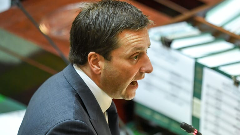 Opposition Leader Matthew Guy said he decided everyone should vote on the Fire Services Bill.