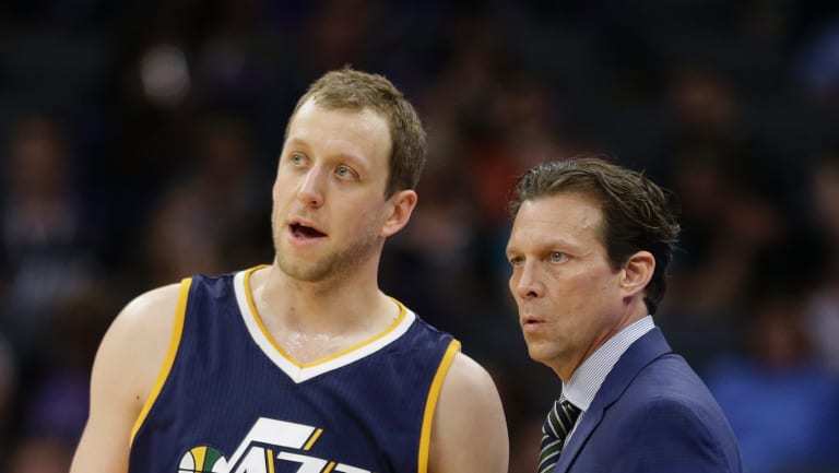 Utah Jazz forward Joe Ingles.