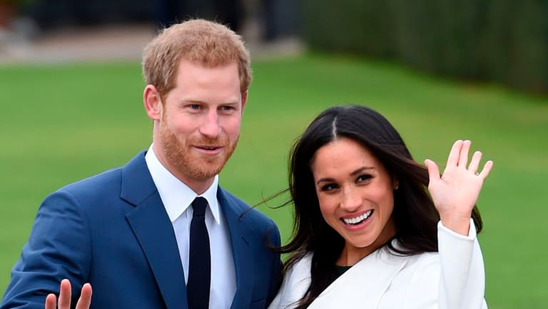 Prince Harry and Meghan Markle will marry on Saturday evening, AEST.