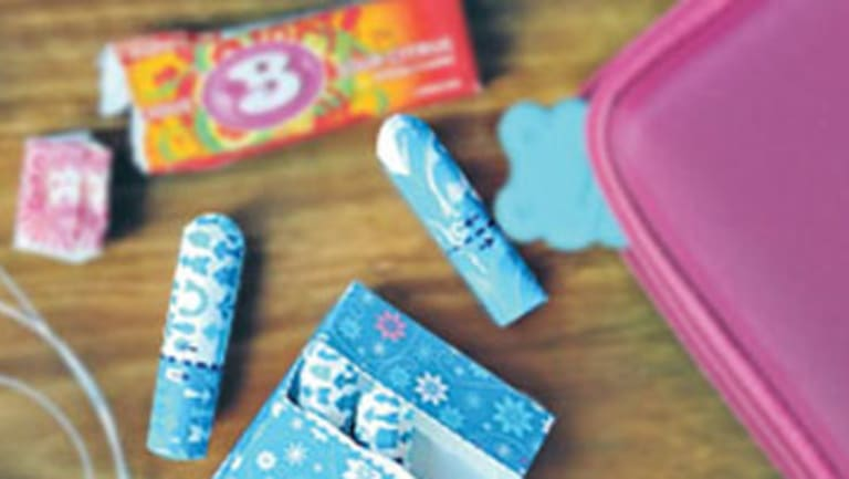 Tampons have been subject to a 10 per cent GST