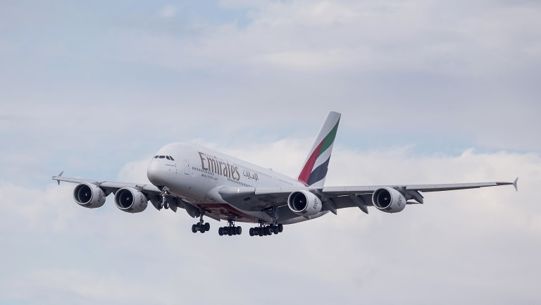 The sick passenger was onboard Emirates flight EK404 which departed Dubai on Wednesday January 10.