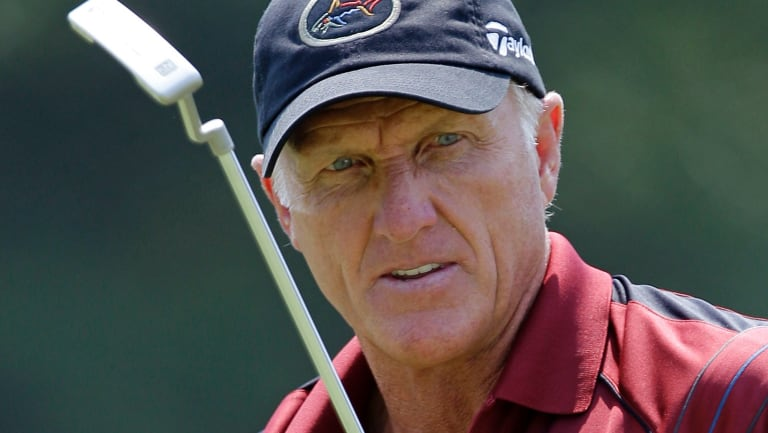 Greg Norman met President Donald Trump through golf.