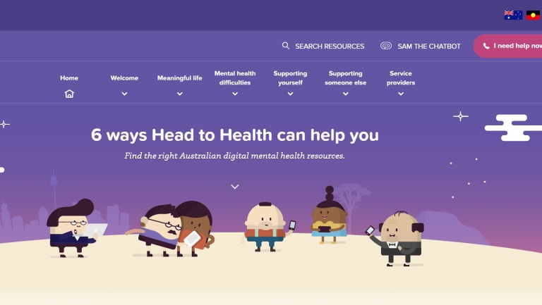 The Australian Government Head to Health website launched in October, 2017.